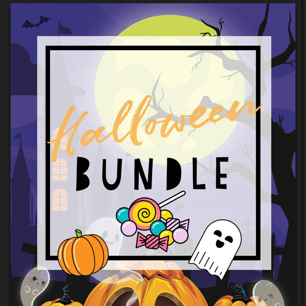 Halloween Stamp Bundle (Use Coupon StampsOnly15 at Checkout) - Clear Stamps by The Sassy Club