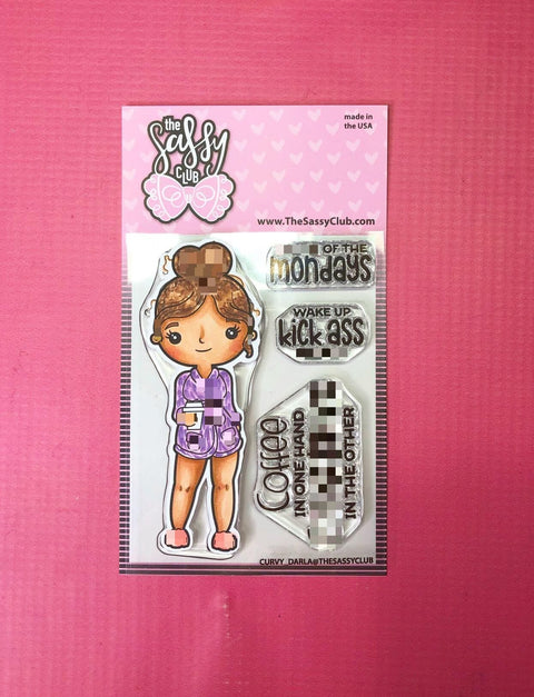Curvy Darla - Clear Stamps by The Sassy Club