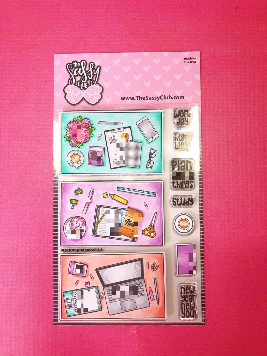 Desktop - Clear Stamps by The Sassy Club