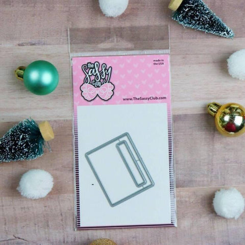 EC Planner box Die - Clear Stamps by The Sassy Club