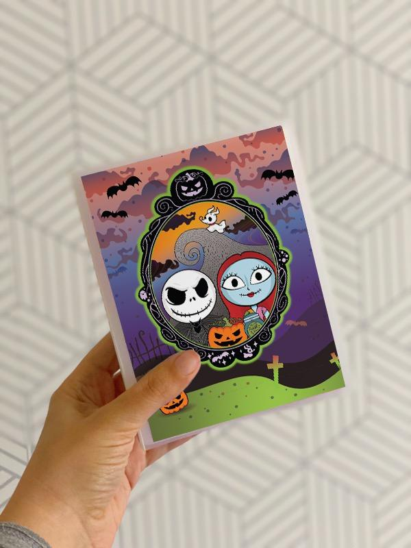 Pumpkin King Sticker Album 4x6 - The Sassy Club