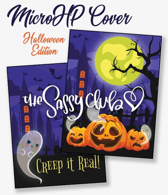 Mico HP Cover - Halloween Edition - Clear Stamps by The Sassy Club