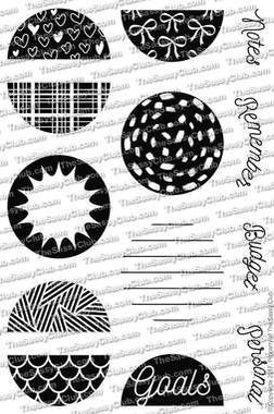 Planner Circles - Clear Stamps by The Sassy Club