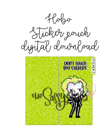 Sticker Holder (Digital Download) - Clear Stamps by The Sassy Club