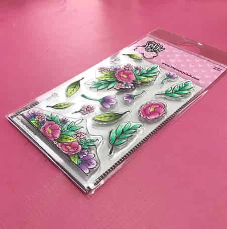 Floral Sass - Clear Stamps by The Sassy Club