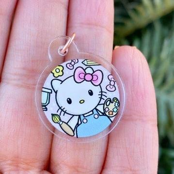 Hello Cutie - Acrylic Planner Charm - The Sassy Club