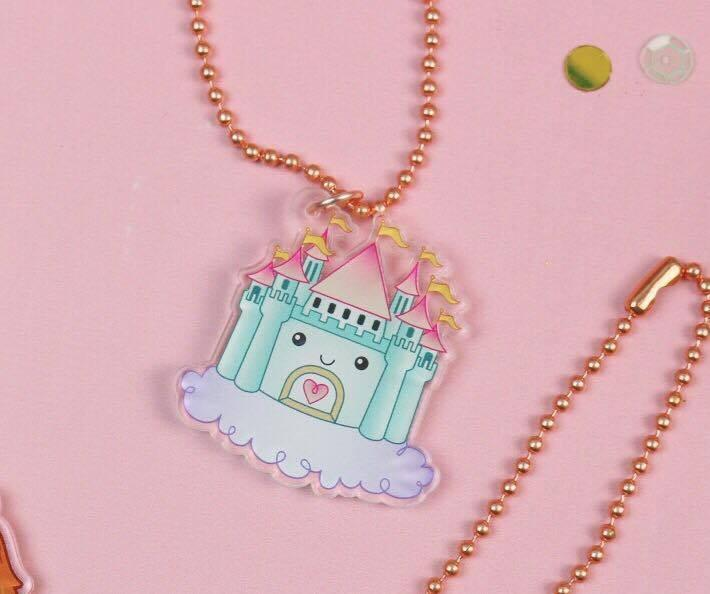 The Sassy Club acrylic planner charm Dream Castle - Acrylic Planner Charm