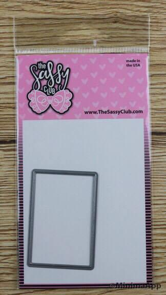 Planner Box Die - Clear Stamps by The Sassy Club