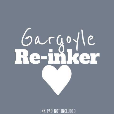 Gargoyle Re-Inker - Clear Stamps by The Sassy Club