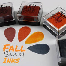 Load image into Gallery viewer, Pigment Ink Set - Autumn - The Sassy Club