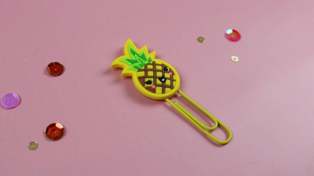 Pineapple Paper Clip - Clear Stamps by The Sassy Club