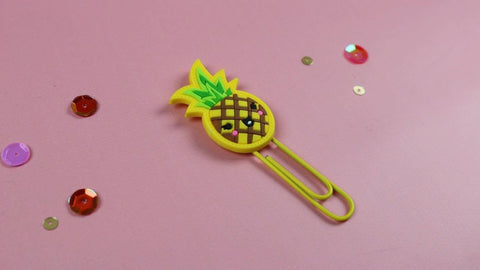 Pineapple Paper Clip (Retiring) - Clear Stamps by The Sassy Club