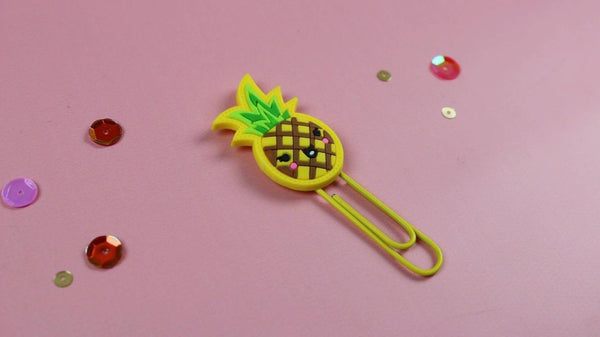 Pineapple Paper Clip (Retiring) - The Sassy Club