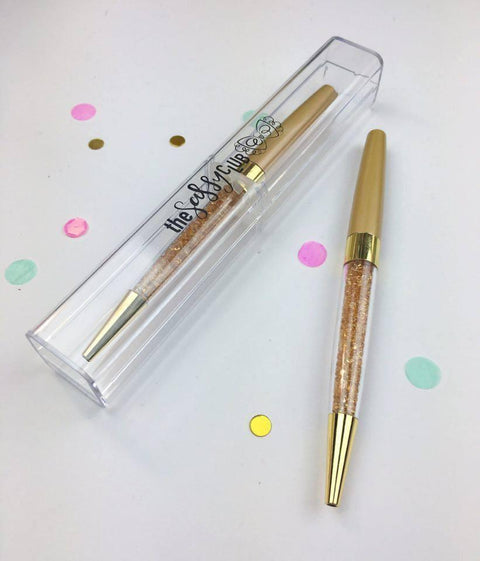 The Sassy Club Pens Gem Pen (Bronze w/ Bronze Gems)