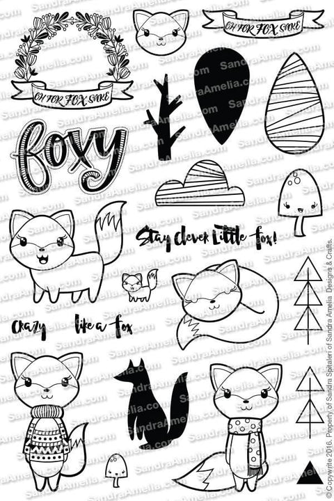 Foxy Planner Stamps