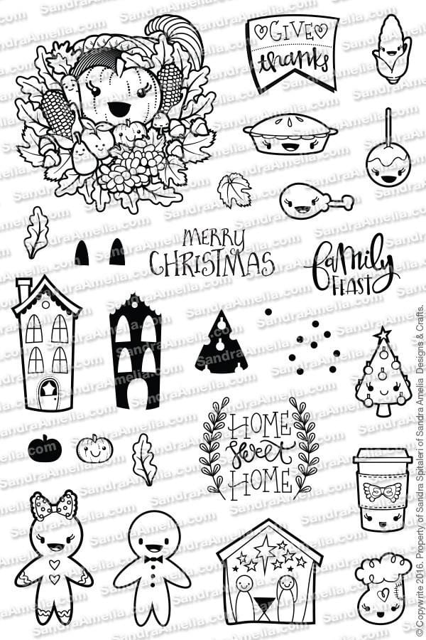 Home Sweet Planner Stamps
