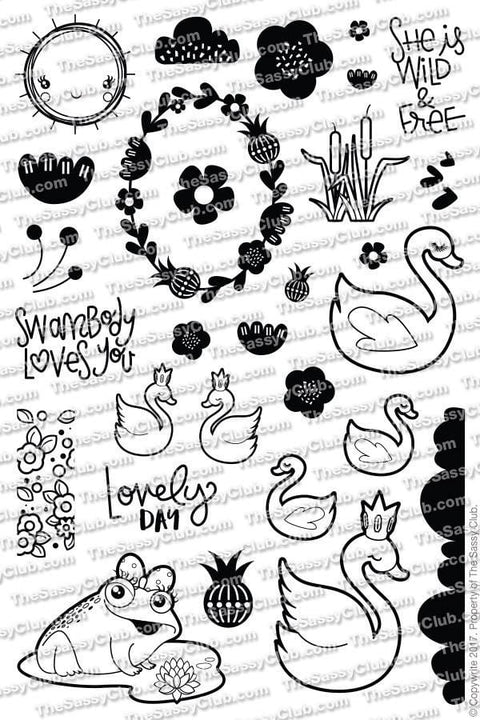 Wild & Free Planner Stamps