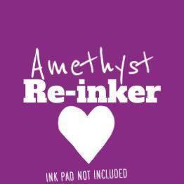 Amethyst Re-Inker (Not An InkPad) - Clear Stamps by The Sassy Club