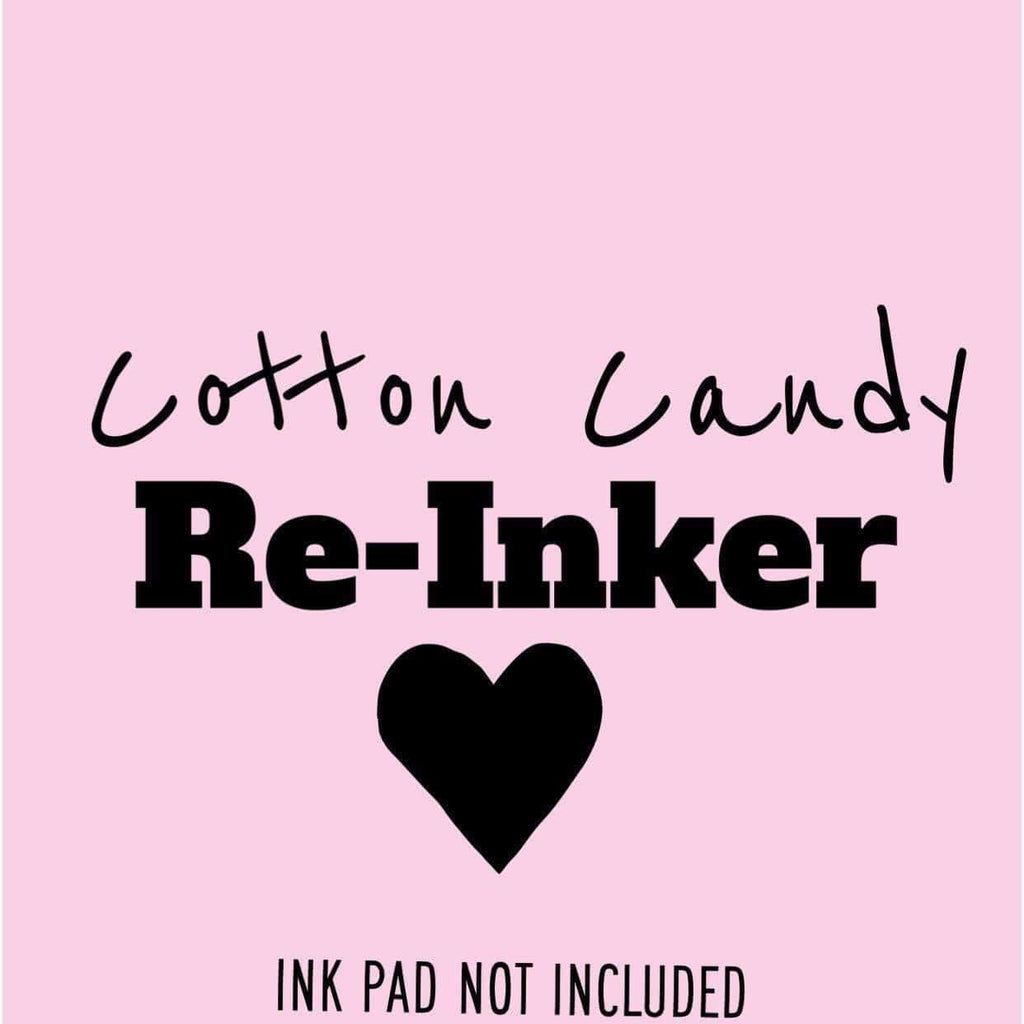 Cotton Candy Re-inker - Clear Stamps by The Sassy Club