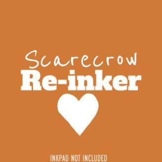 Scarecrow Re-Inker (Not An InkPad) - Clear Stamps by The Sassy Club