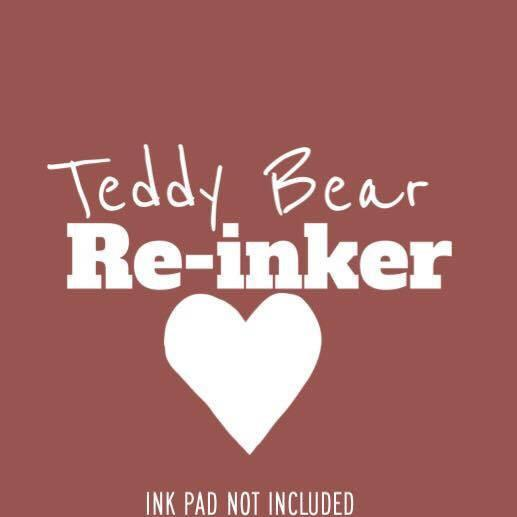 Teddy Bear Re-inker (Not An InkPad) - The Sassy Club