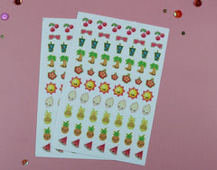 Tutti Fruity Planner Stickers (Retiring) (2 Sheets)