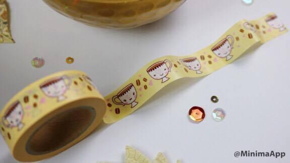 The Sassy Club Washi Tape Coffee Washi