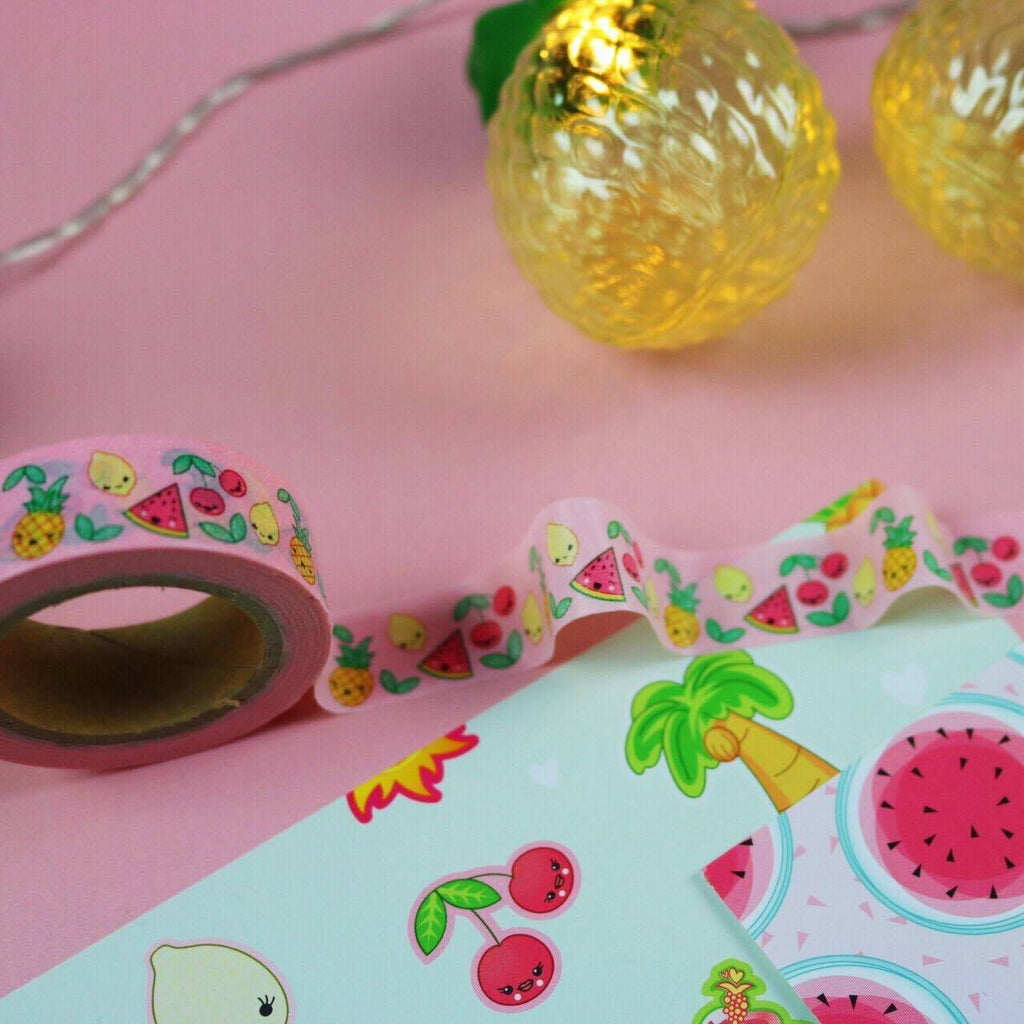 The Sassy Club Washi Tape Tutti Frutti Washi Tape