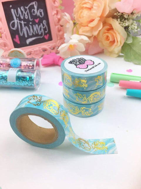 Washi Tape (Unicorn Dreams) - One Roll - Clear Stamps by The Sassy Club