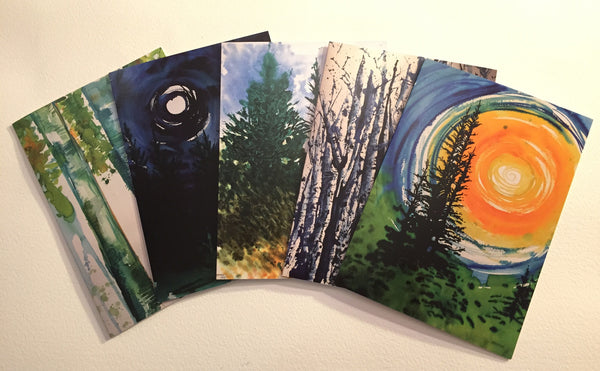 North  Woods Note Cards