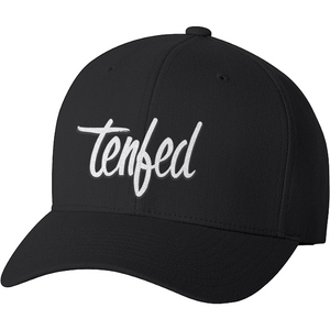Tenfed Classic Flex Fit Hat. Black