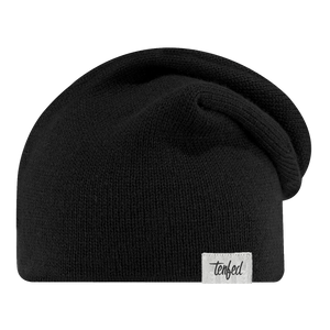 TF slouchy toque. black