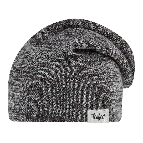 TF slouchy toque. marl charcoal