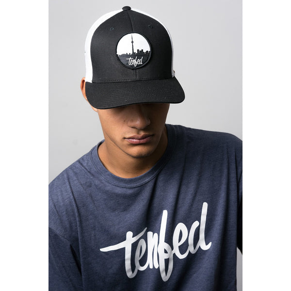 TF city scope flex fit hat. mesh