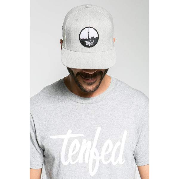 Tenfed City Scope Grey Snapback Hat
