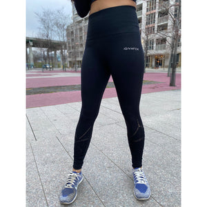 iGIVAFCK Seamless Leggings. Black. Ladies