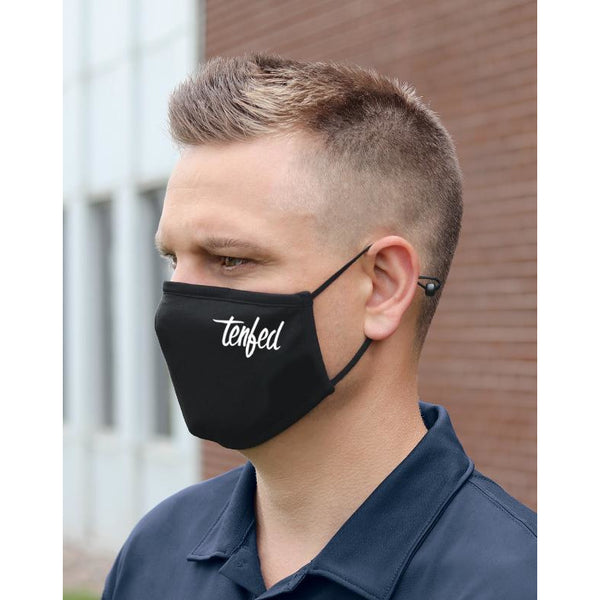 Face mask. Tenfed. Black - FREE SHIPPING