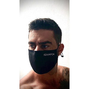 Face Mask. iGIVAFCK. Black - FREE SHIPPING
