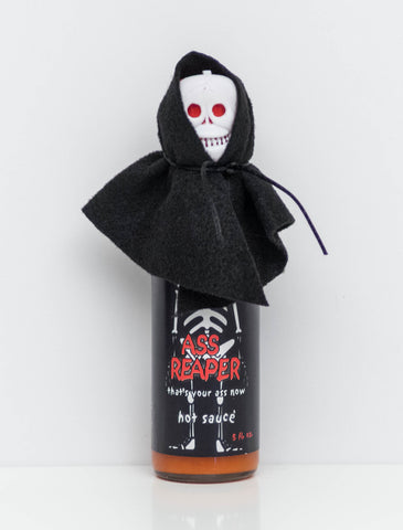 Ass Reaper Skull Cap & Cape Hot Sauce