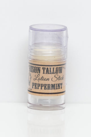Bison Peppermint Lotion Stick