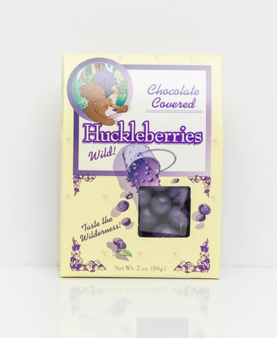 Choc Covered Huckleberries