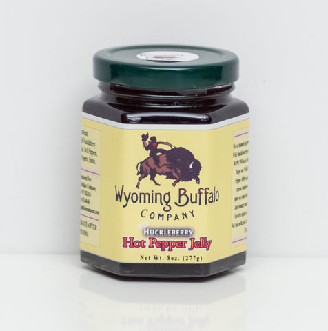 Wild Huckleberry Hot Pepper Jelly