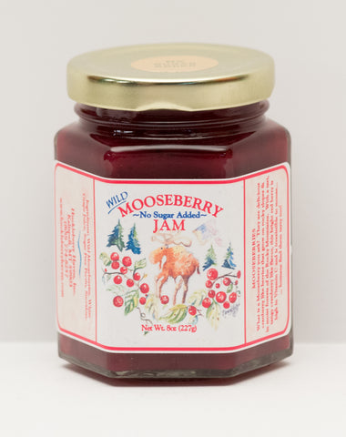 Mooseberry Jam - No Sugar Added 8 oz