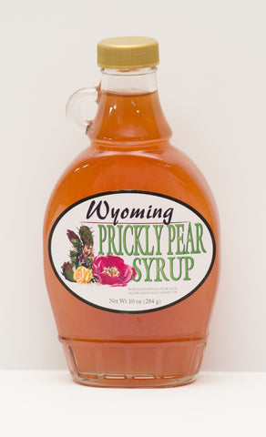 Prickly Pear Syrup Flask