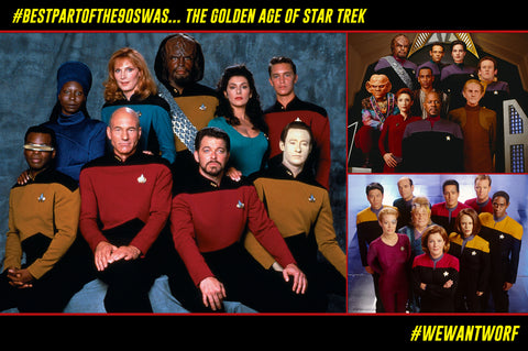 BEST PART OF THE 90S WAS STAR TREK