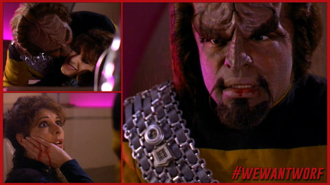 THE DOS AND DONTS OF DATING ACCORDING TO WORF STAR TREK TNG