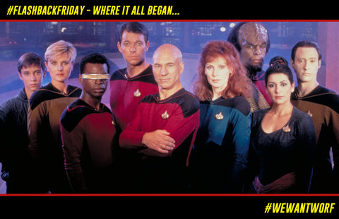 FLASHBACK FRIDAY STAR TREK TNG PREMIERES
