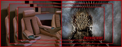 GAME OF THRONES VS STAR TREK TNG