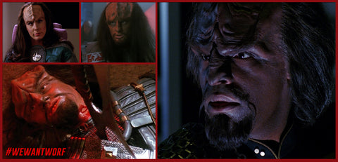 STAR TREK TNG WORF KILLS DURAS