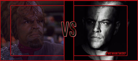 JASON BOURNE VS WORF OF STAR TREK TNG